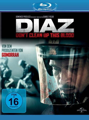 Diaz;Dont clean up this blood